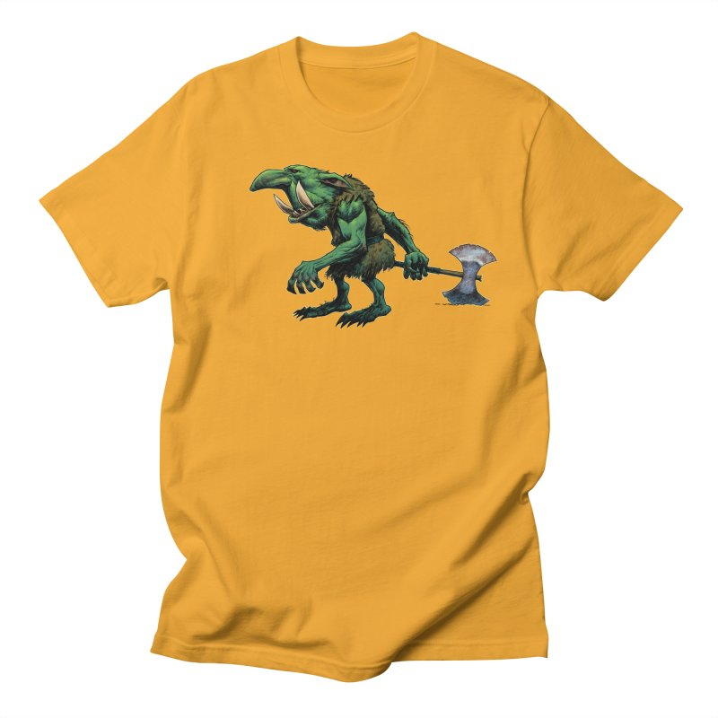 Goblin Men's Regular T-Shirt by Ambrose H.H.'s Artist Shop