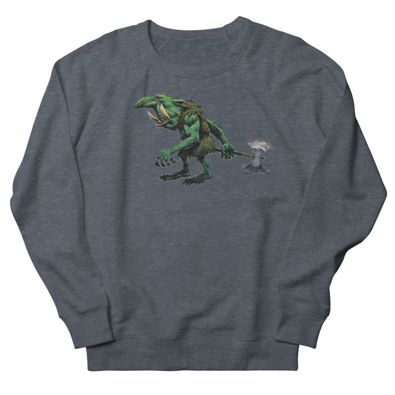 Goblin Women's French Terry Sweatshirt by Ambrose H.H.'s Artist Shop