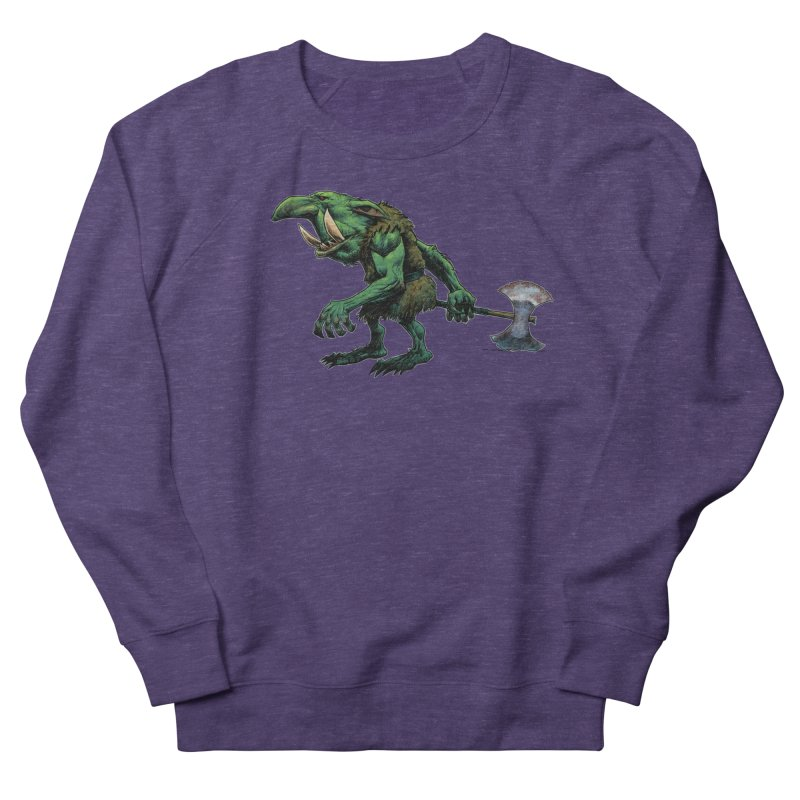 Goblin Men's French Terry Sweatshirt by Ambrose H.H.'s Artist Shop