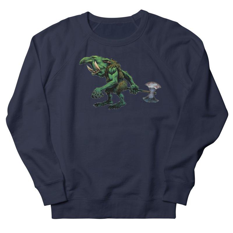 Goblin Men's French Terry Sweatshirt by Ambrose H.H.'s Artist Shop