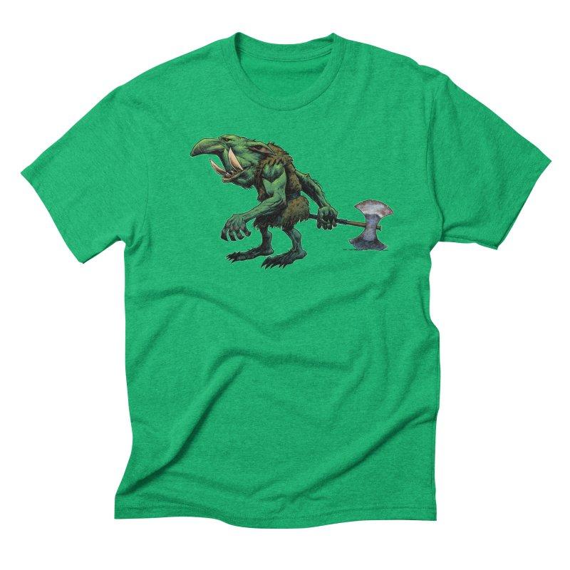 Goblin Men's Triblend T-Shirt by Ambrose H.H.'s Artist Shop