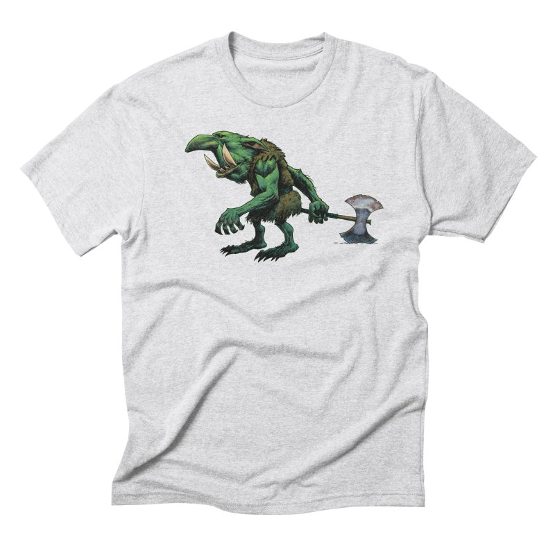 Goblin Men's Triblend T-Shirt by Ambrose H.H.'s Artist Shop