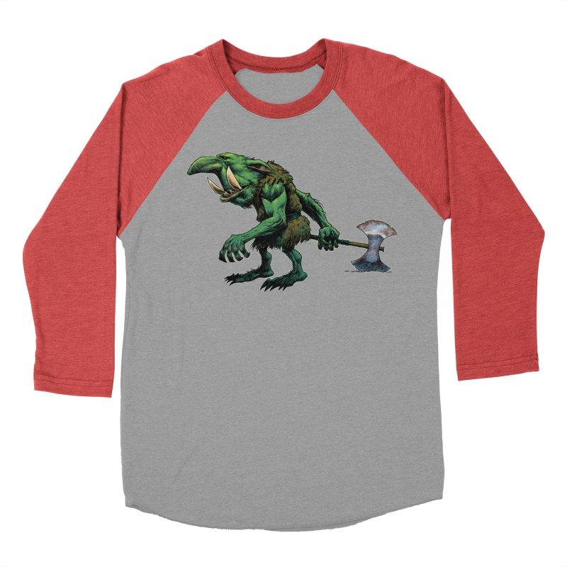 Goblin Women's Baseball Triblend Longsleeve T-Shirt by Ambrose H.H.'s Artist Shop