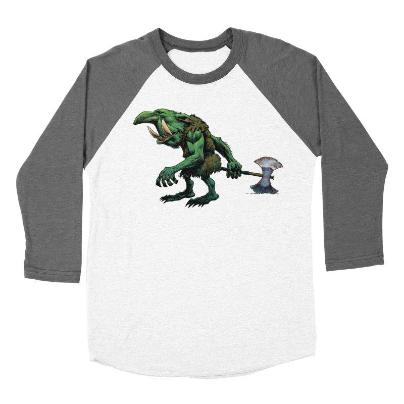 Goblin Men's Baseball Triblend Longsleeve T-Shirt by Ambrose H.H.'s Artist Shop