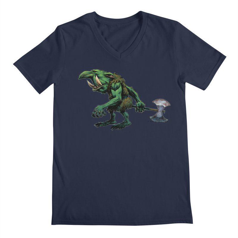 Goblin Men's Regular V-Neck by Ambrose H.H.'s Artist Shop