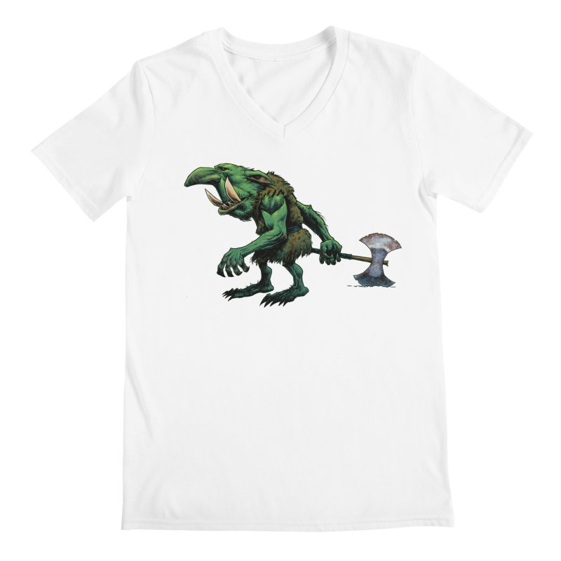 Goblin Men's V-Neck by Ambrose H.H.'s Artist Shop