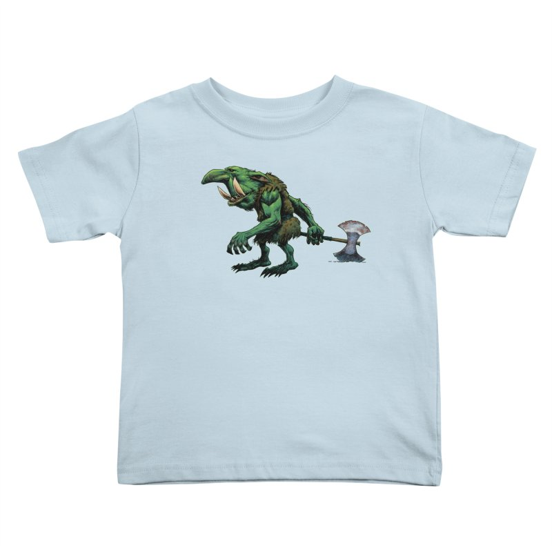Goblin Kids Toddler T-Shirt by Ambrose H.H.'s Artist Shop