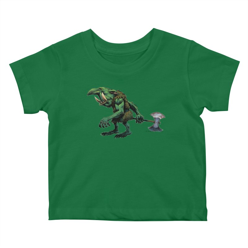 Goblin Kids Baby T-Shirt by Ambrose H.H.'s Artist Shop