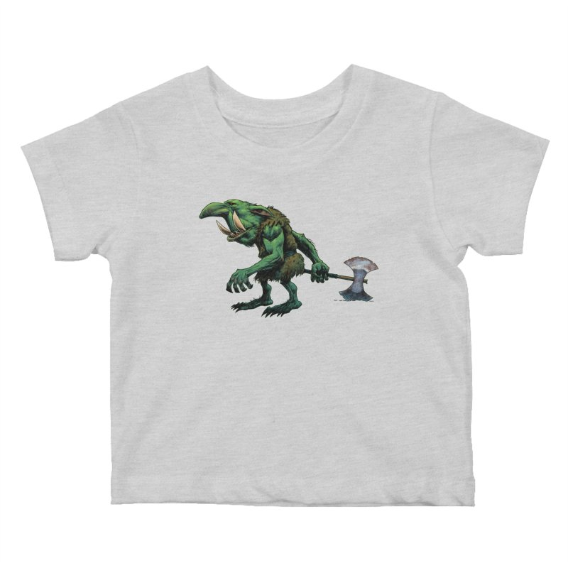 Goblin Kids Baby T-Shirt by Ambrose H.H.'s Artist Shop