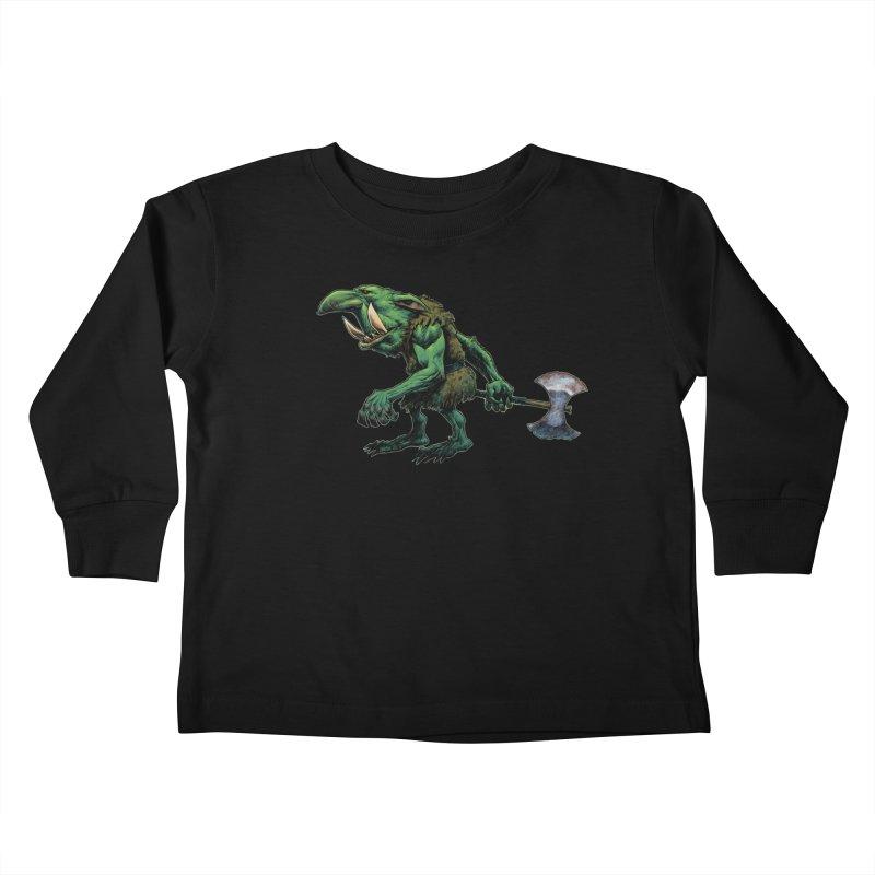 Goblin Kids Toddler Longsleeve T-Shirt by Ambrose H.H.'s Artist Shop