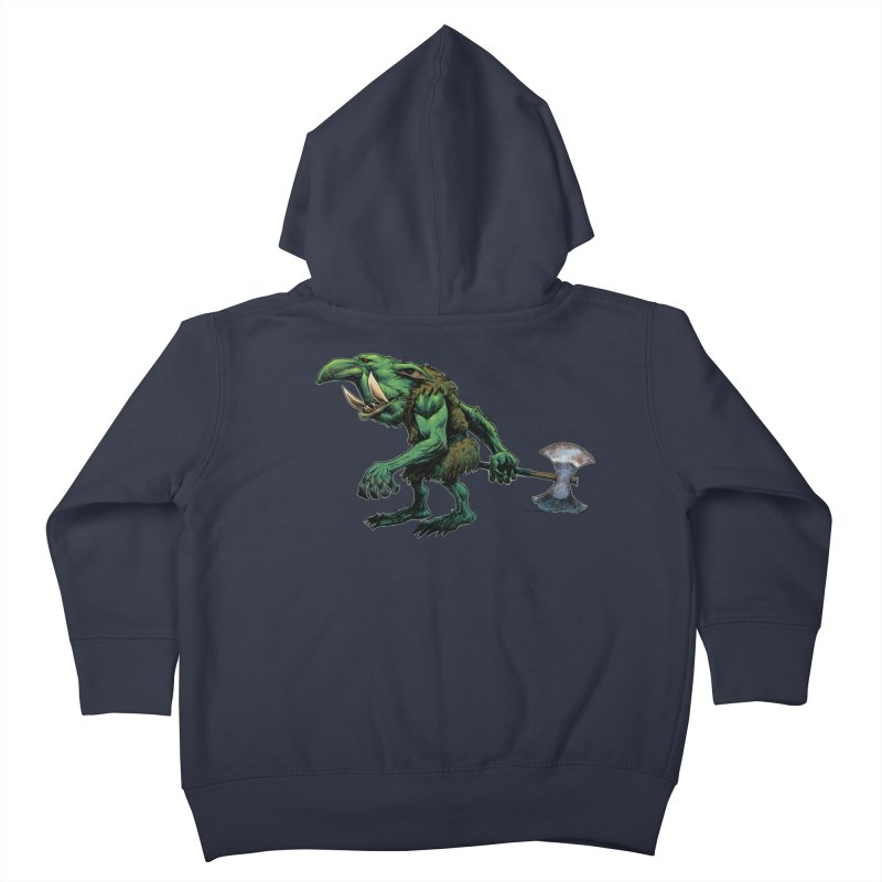 Goblin Kids Toddler Zip-Up Hoody by Ambrose H.H.'s Artist Shop