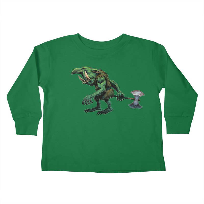Goblin Kids Toddler Longsleeve T-Shirt by Ambrose H.H.'s Artist Shop