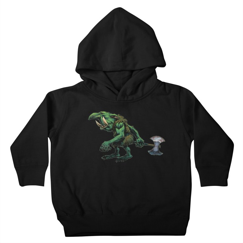 Goblin Kids Toddler Pullover Hoody by Ambrose H.H.'s Artist Shop