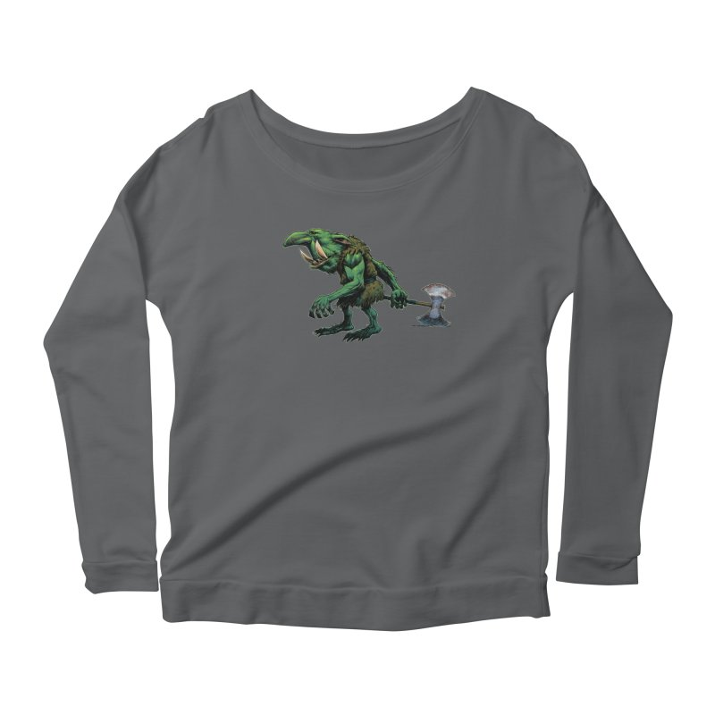 Goblin Women's Scoop Neck Longsleeve T-Shirt by Ambrose H.H.'s Artist Shop