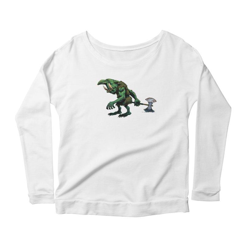 Goblin Women's Scoop Neck Longsleeve T-Shirt by Ambrose H.H.'s Artist Shop