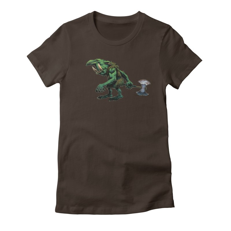 Goblin Women's T-Shirt by Ambrose H.H.'s Artist Shop