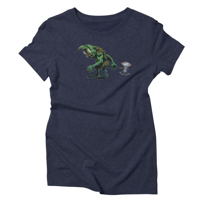 Goblin Women's Triblend T-Shirt by Ambrose H.H.'s Artist Shop