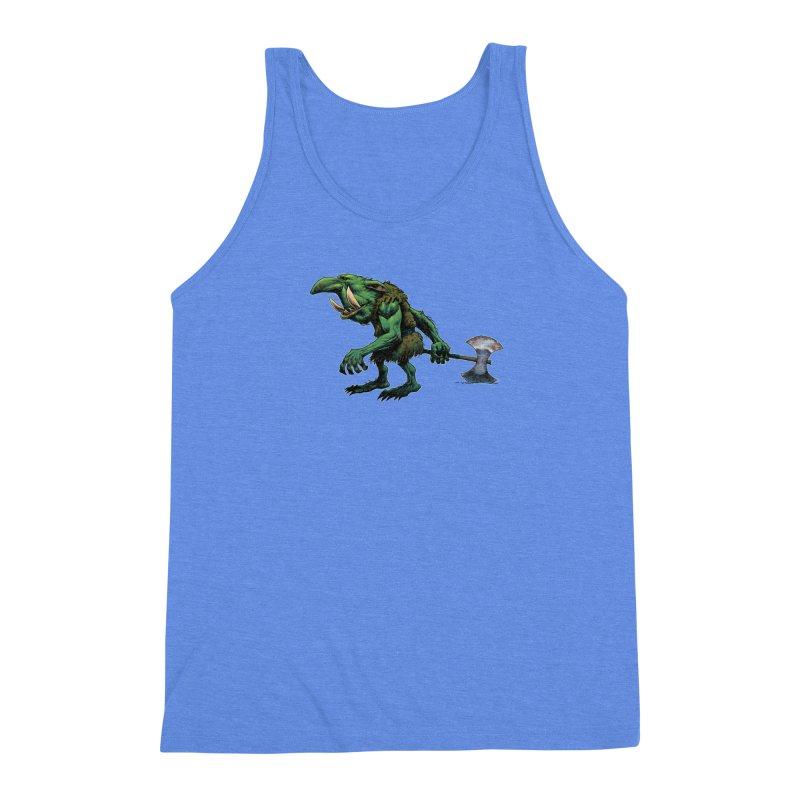 Goblin Men's Triblend Tank by Ambrose H.H.'s Artist Shop