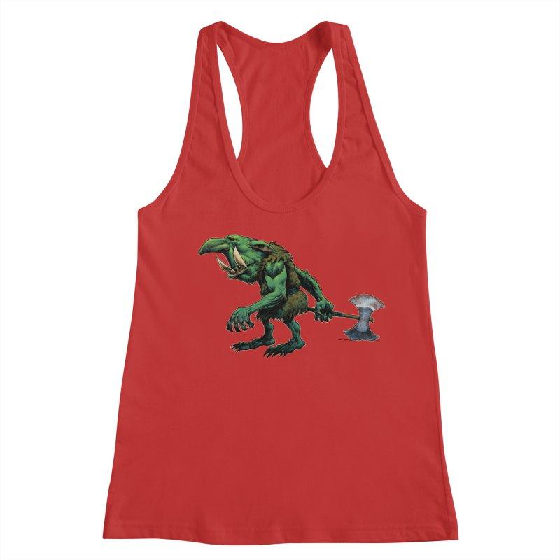 Goblin Women's Racerback Tank by Ambrose H.H.'s Artist Shop