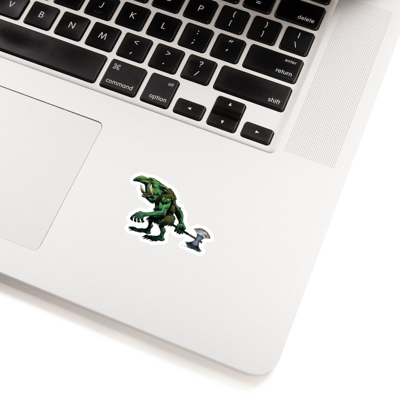 Goblin Accessories Sticker by Ambrose H.H.'s Artist Shop