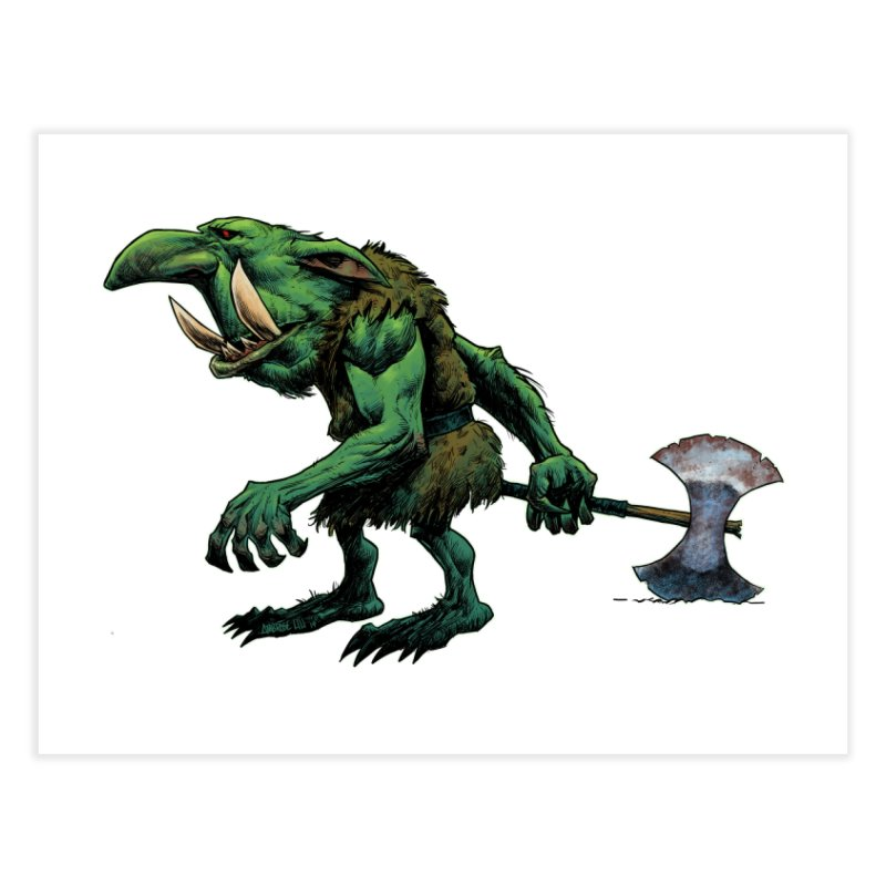 Goblin Home Fine Art Print by Ambrose H.H.'s Artist Shop