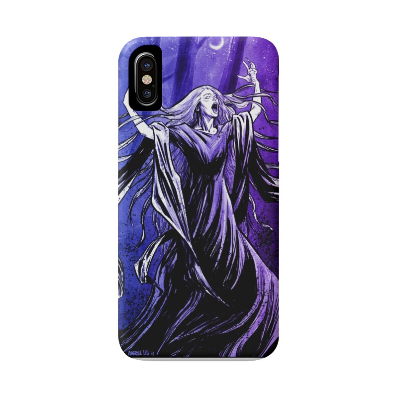 Banshee Accessories Phone Case by Ambrose H.H.'s Artist Shop
