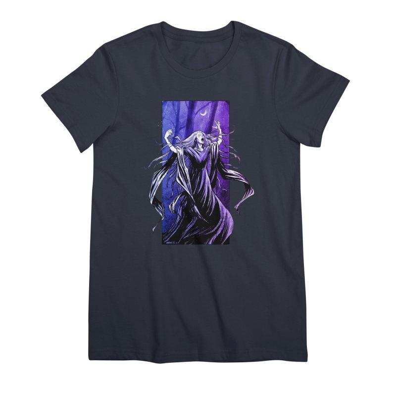 Banshee Women's Premium T-Shirt by Ambrose H.H.'s Artist Shop