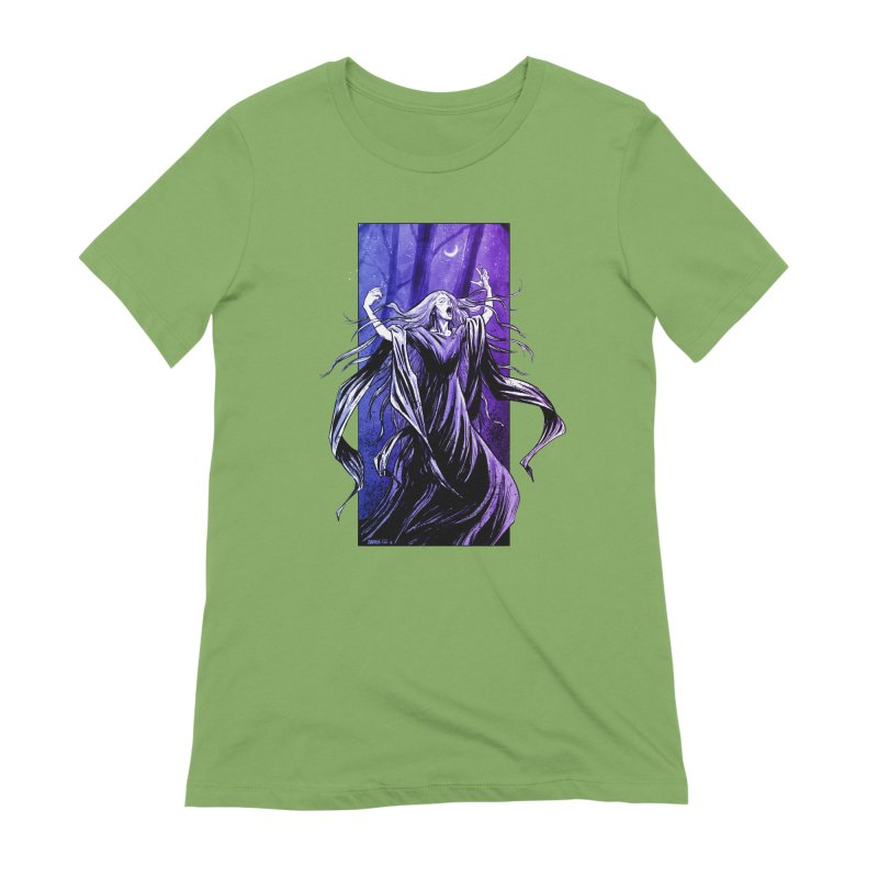 Banshee Women's Extra Soft T-Shirt by Ambrose H.H.'s Artist Shop
