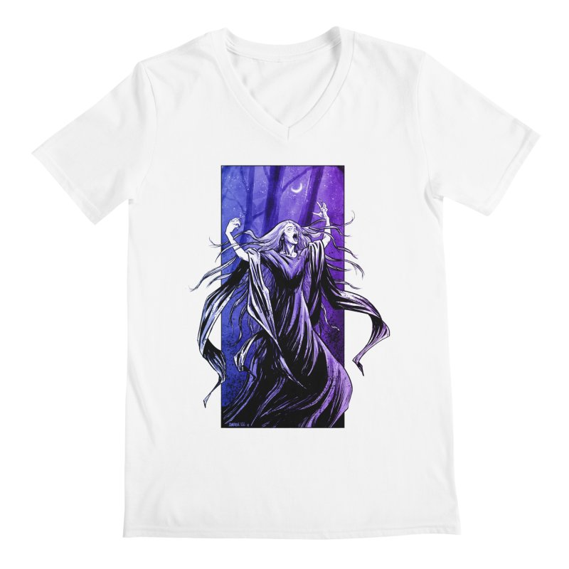 Banshee Men's V-Neck by Ambrose H.H.'s Artist Shop