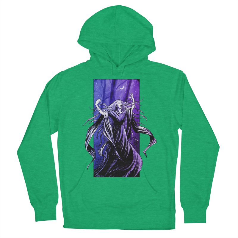 Banshee Women's French Terry Pullover Hoody by Ambrose H.H.'s Artist Shop