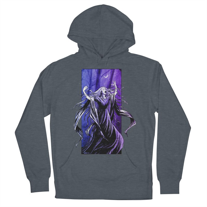 Banshee Men's French Terry Pullover Hoody by Ambrose H.H.'s Artist Shop