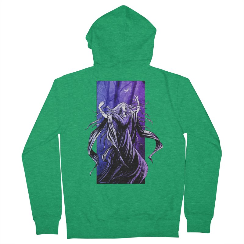 Banshee Women's French Terry Zip-Up Hoody by Ambrose H.H.'s Artist Shop