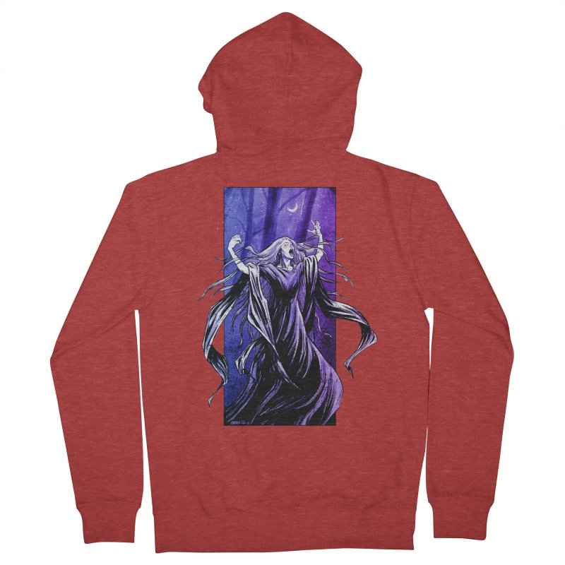 Banshee Women's Zip-Up Hoody by Ambrose H.H.'s Artist Shop
