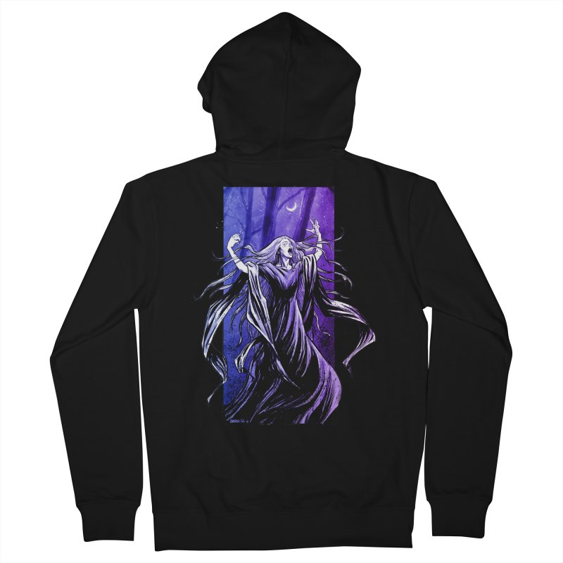 Banshee Men's Zip-Up Hoody by Ambrose H.H.'s Artist Shop