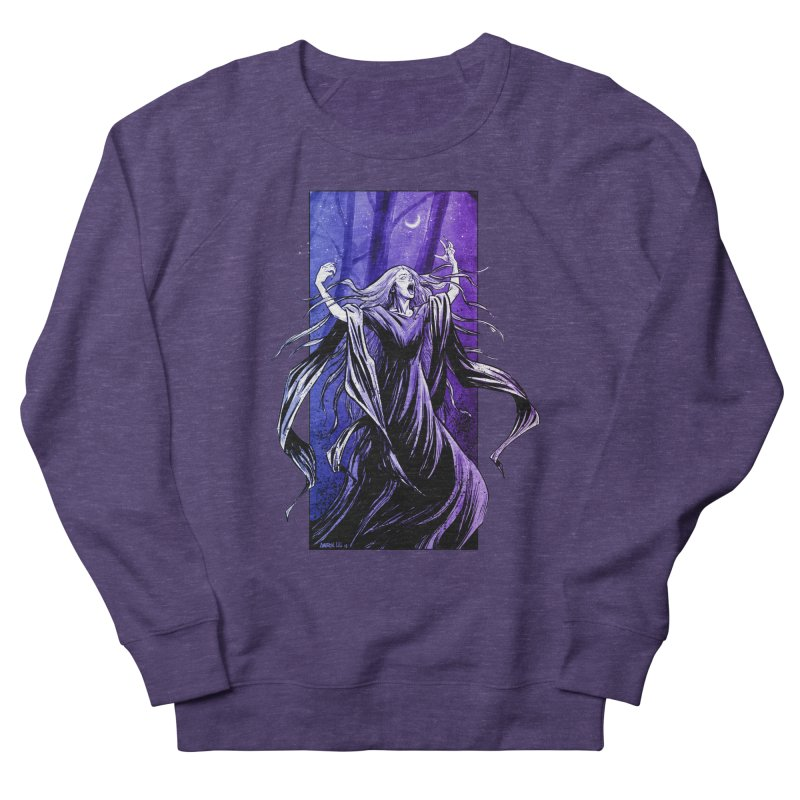 Banshee Men's French Terry Sweatshirt by Ambrose H.H.'s Artist Shop