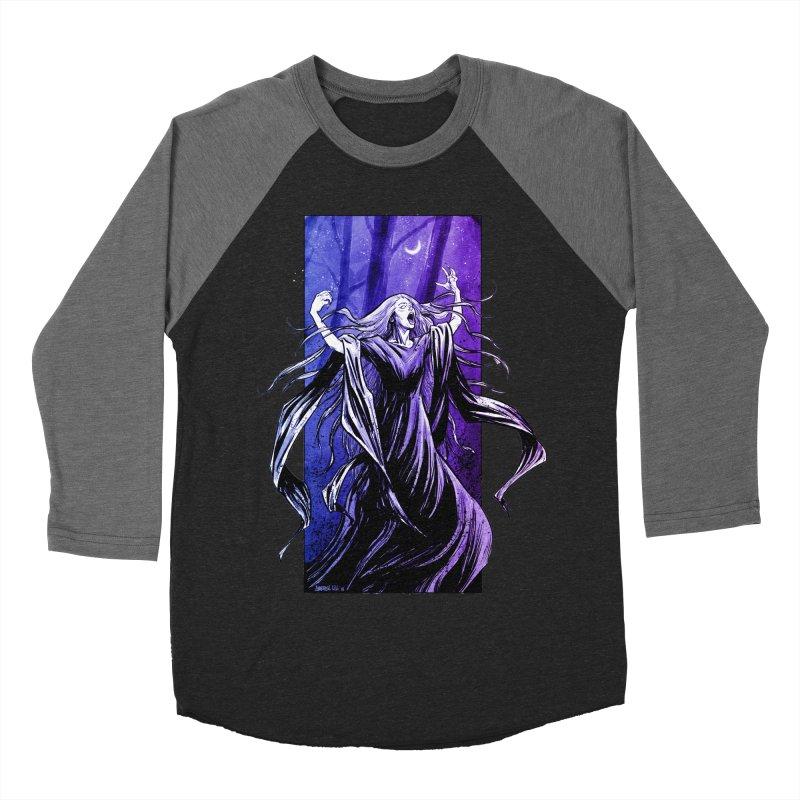 Banshee Women's Baseball Triblend Longsleeve T-Shirt by Ambrose H.H.'s Artist Shop