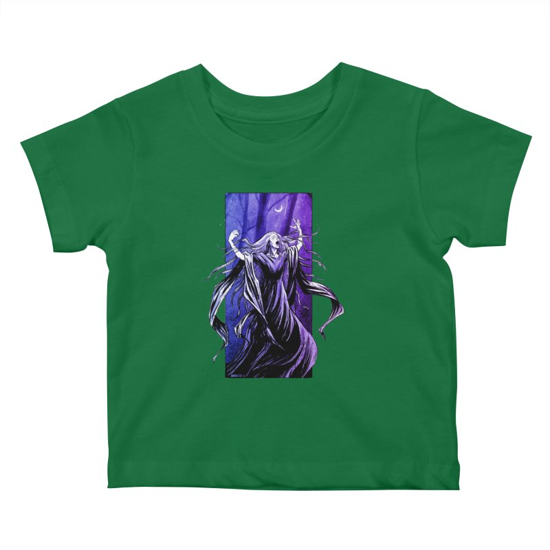 Banshee Kids Baby T-Shirt by Ambrose H.H.'s Artist Shop