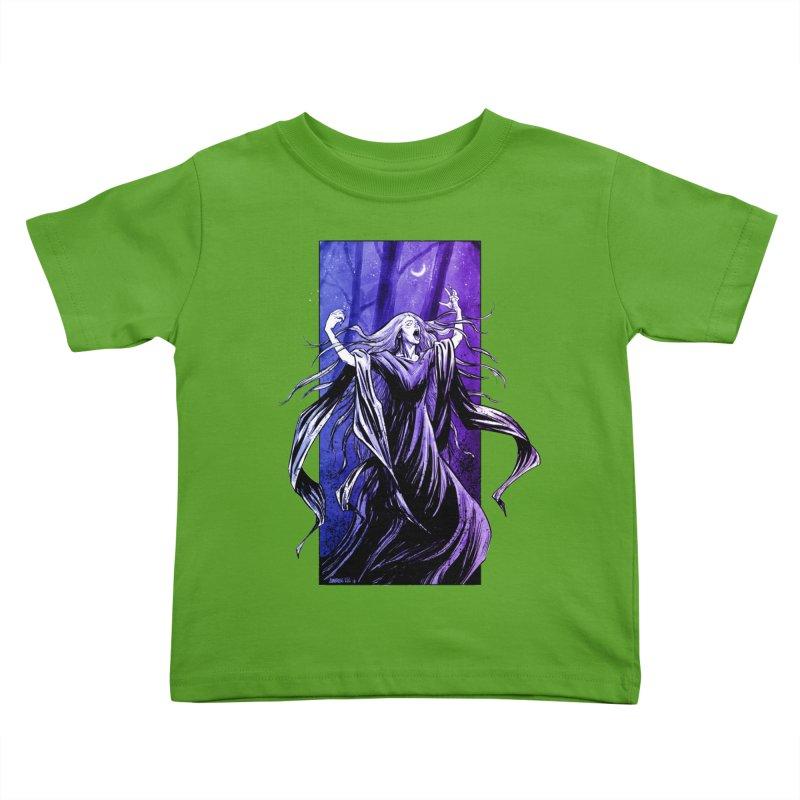 Banshee Kids Toddler T-Shirt by Ambrose H.H.'s Artist Shop