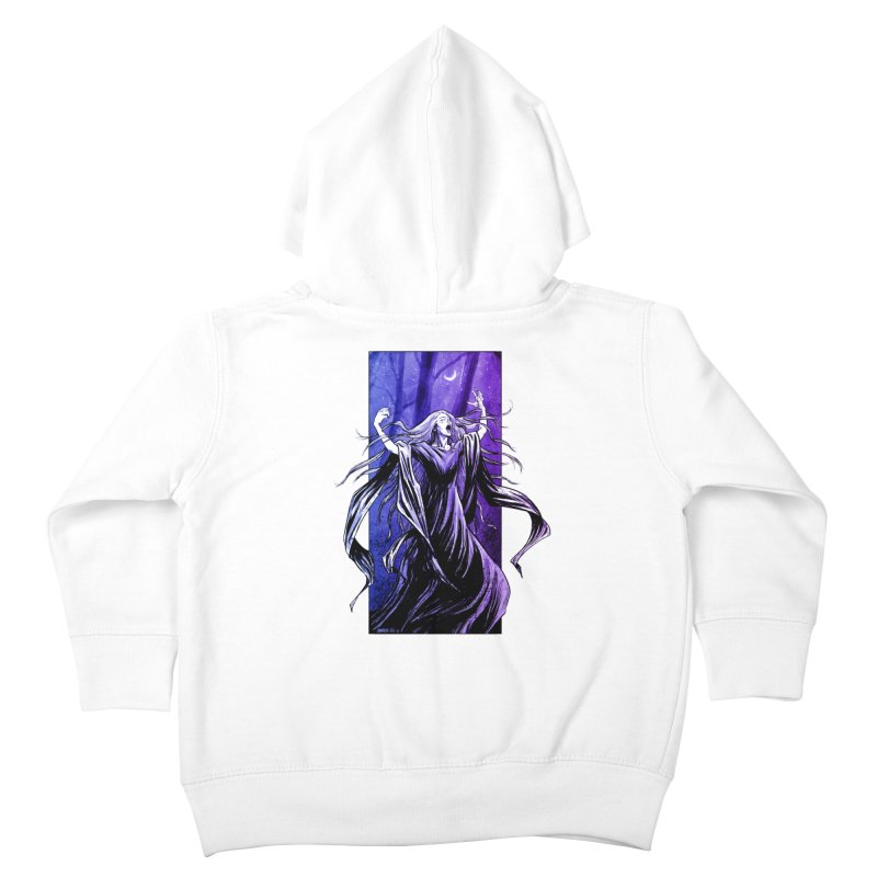 Banshee Kids Toddler Zip-Up Hoody by Ambrose H.H.'s Artist Shop