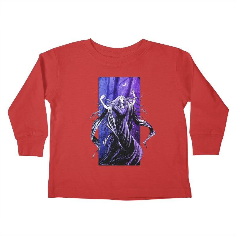 Banshee Kids Toddler Longsleeve T-Shirt by Ambrose H.H.'s Artist Shop