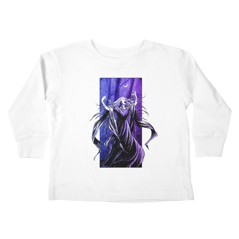 Banshee Kids Toddler Longsleeve T-Shirt by Ambrose H.H.'s Artist Shop
