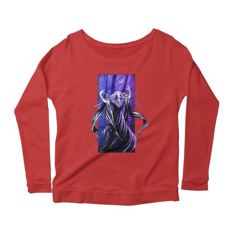 Banshee Women's Scoop Neck Longsleeve T-Shirt by Ambrose H.H.'s Artist Shop