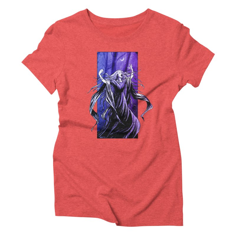 Banshee Women's Triblend T-Shirt by Ambrose H.H.'s Artist Shop