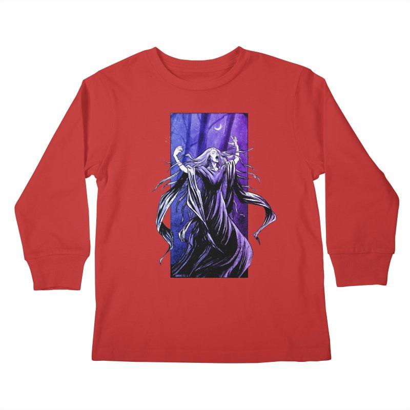 Banshee Kids Longsleeve T-Shirt by Ambrose H.H.'s Artist Shop