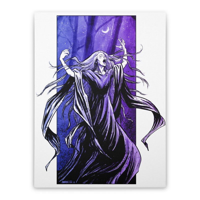Banshee Home Stretched Canvas by Ambrose H.H.'s Artist Shop