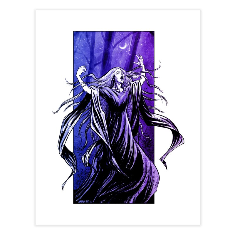 Banshee Home Fine Art Print by Ambrose H.H.'s Artist Shop