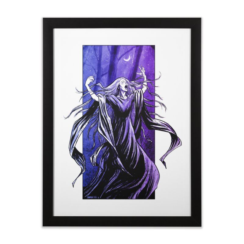 Banshee Home Framed Fine Art Print by Ambrose H.H.'s Artist Shop