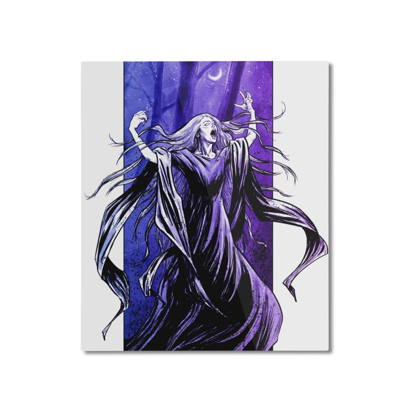 Banshee Home Mounted Aluminum Print by Ambrose H.H.'s Artist Shop