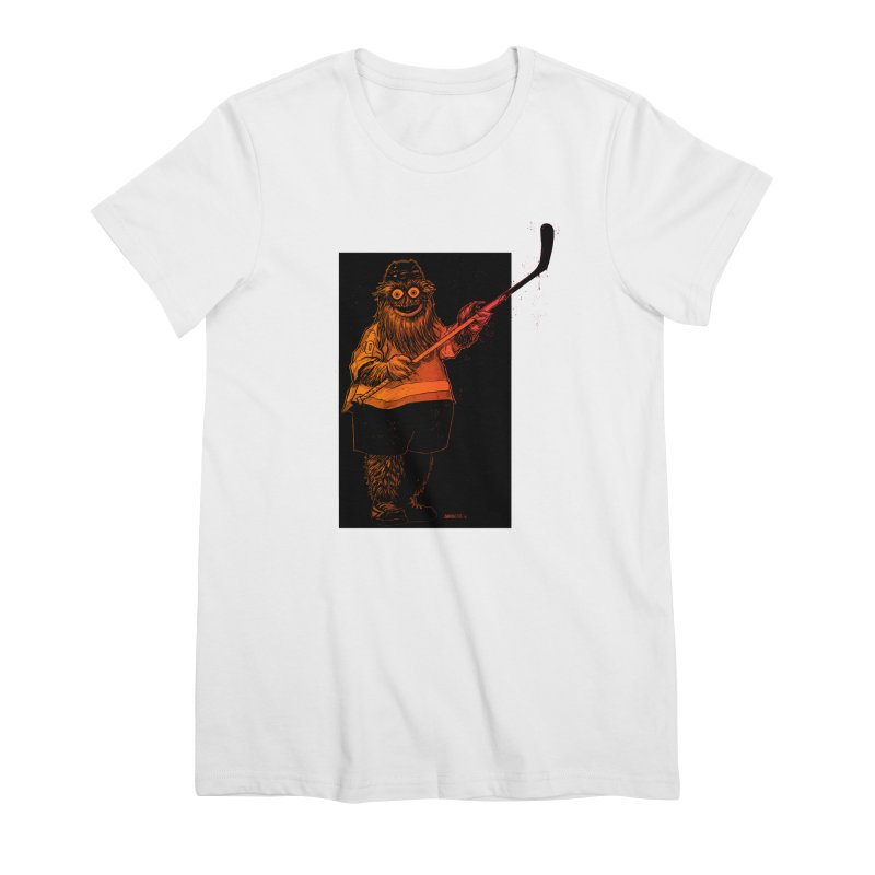 Gritty Women's Premium T-Shirt by Ambrose H.H.'s Artist Shop