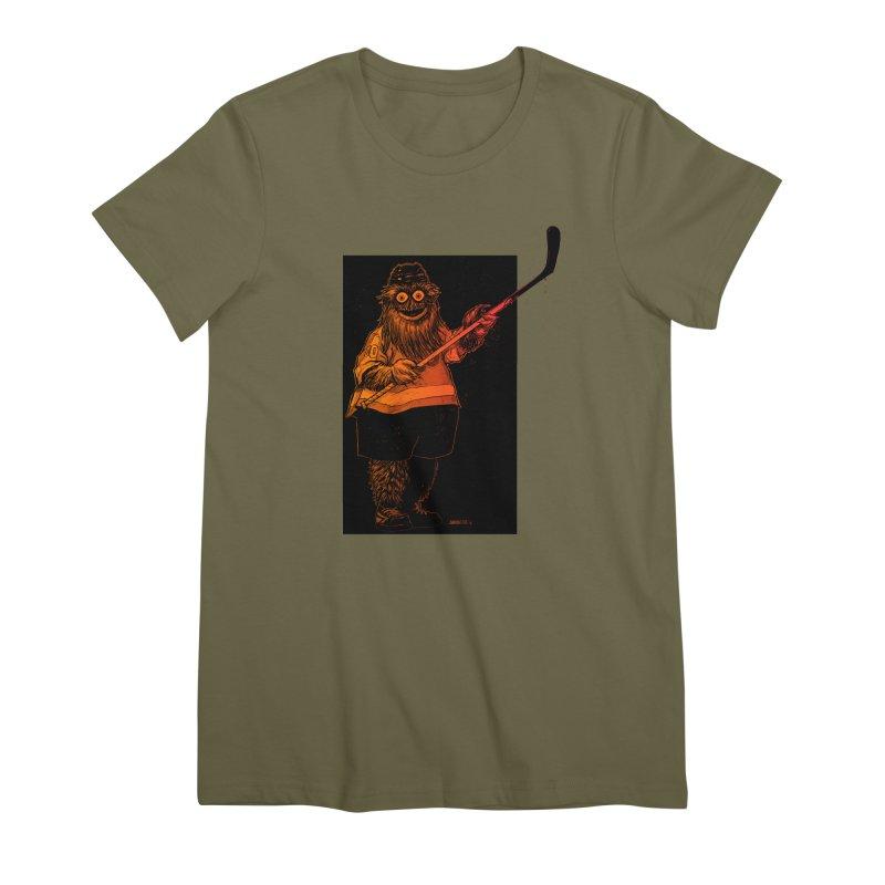 Gritty Women's Premium T-Shirt by Ambrose H.H.'s Artist Shop